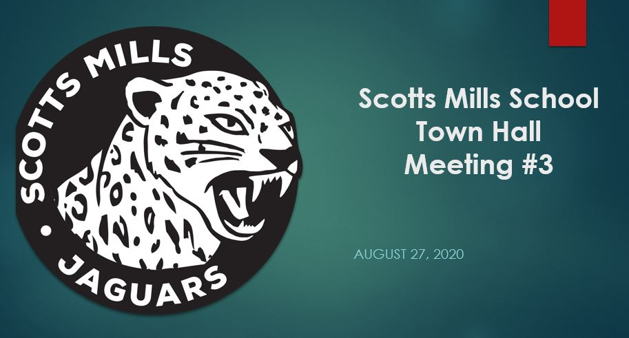 Scotts Mills School Town Hall 8.27.20